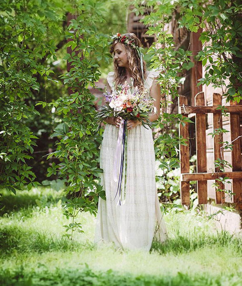 Cudowne Suknie Rustykalne Suknie Vintage Suknie ślubne Rustykalne